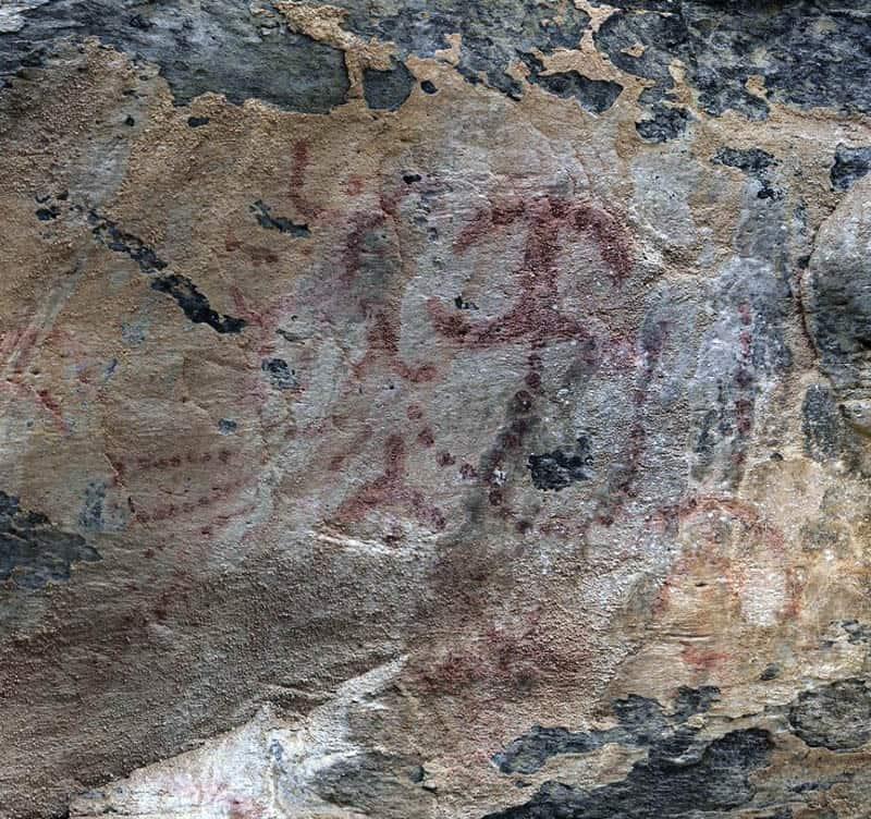 Balma dei cervi pitture rupestri